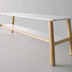 Table basse d'attente GABER Woody