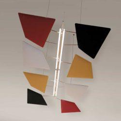 Plafond acoustique CAIMI à rabat