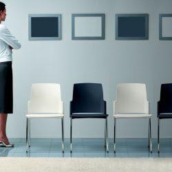 Chaise de réunion EUROSIT